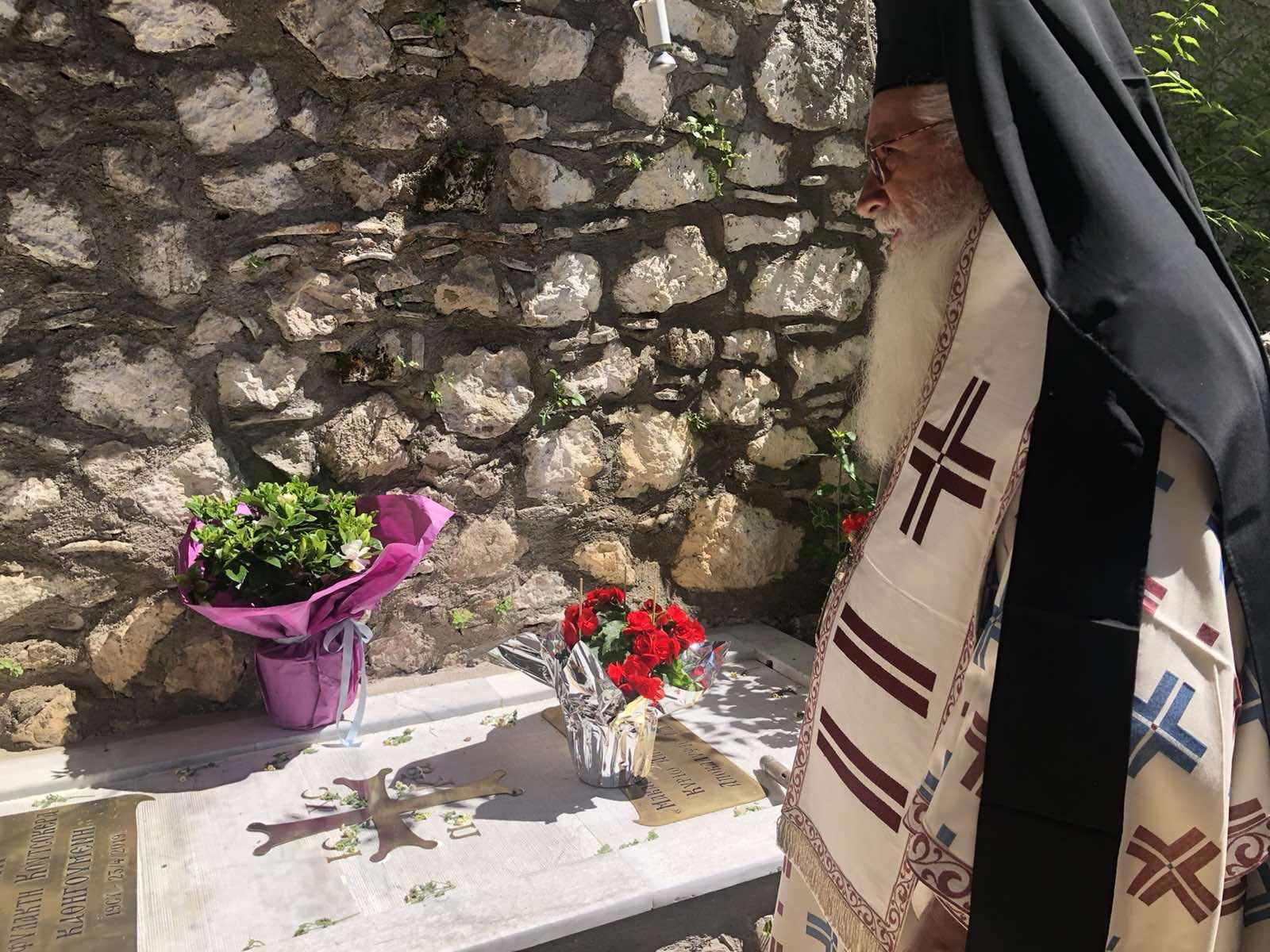 Υψηλάντης:Ετήσιο Μνημόσυνο μακαριστής Καθηγουμένης Ιεράς Μονής Αγ.Νικολάου Υψηλάντη(ΦΩΤΟ)