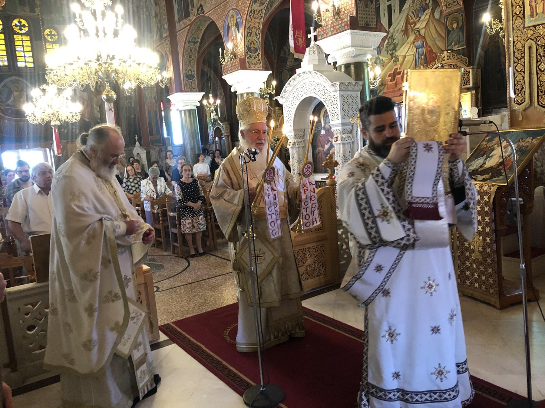 Βοιωτία :Εορτή Αγίων Κωνσταντίνου και Ελένης – Εορτή μετακομιδής ιερού λειψάνου Αγίου Νικολάου Μύρων της Λυκίας(ΦΩΤΟ)