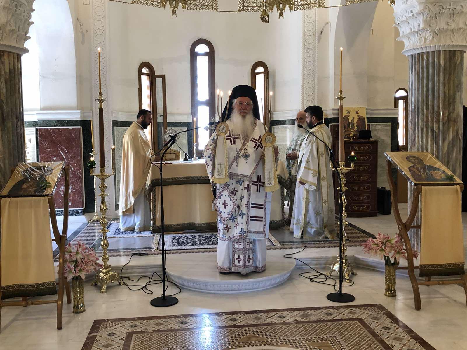 Η εορτή της Αναλήψεως του Κυρίου στην Βοιωτία (ΦΩΤΟ)