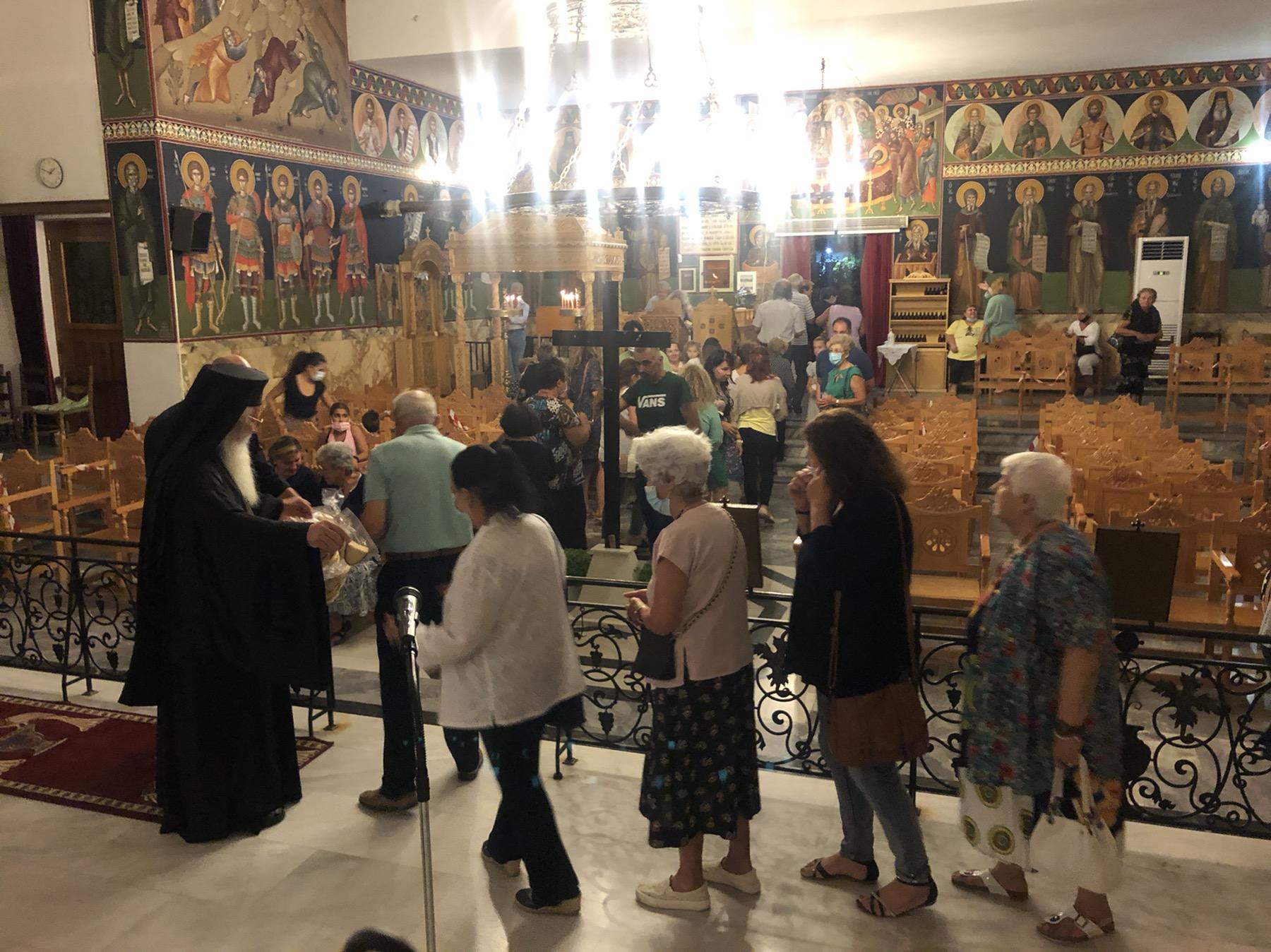 Εορτή Αγίας Σοφίας στα Άσπρα Σπίτια Βοιωτίας(ΦΩΤΟ)