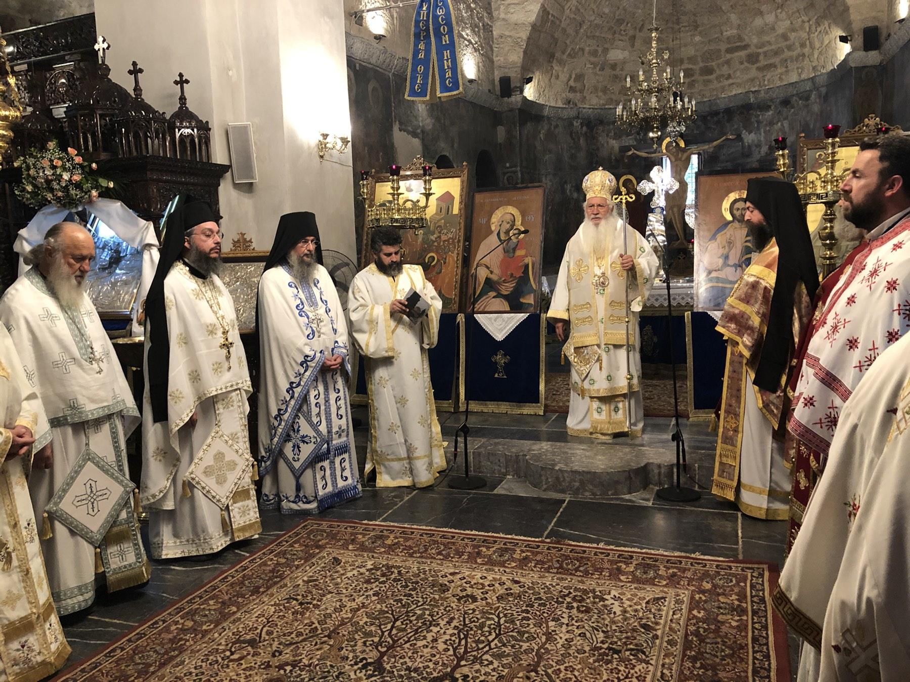 Εορτή Γενεσίου της Θεοτόκου – Εορτασμός του θαύματος της Παναγίας στον Ορχομενό(ΦΩΤΟ)