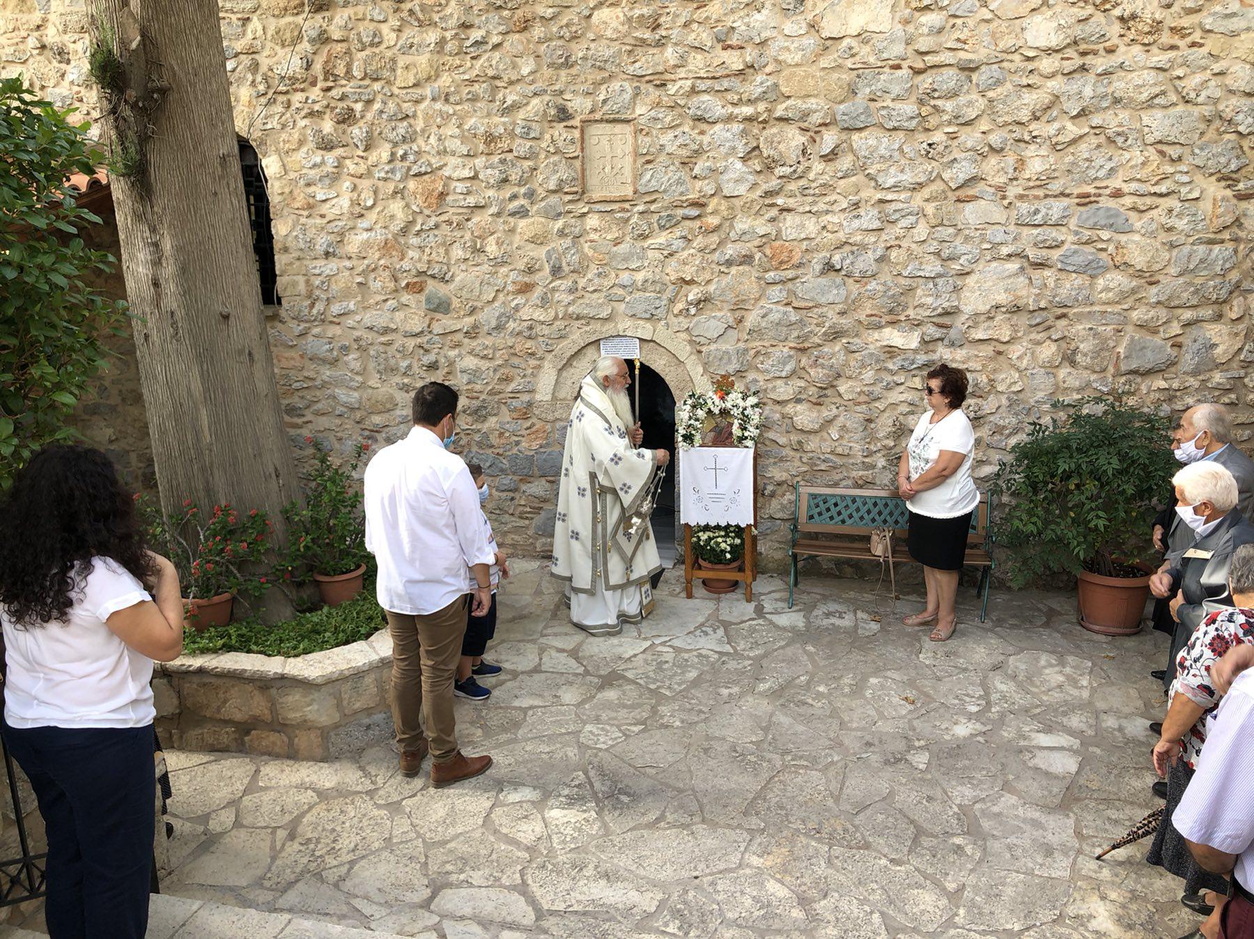 Εορτή Μεταστάσεως Αγίου Ιωάννου του Θεολόγου – Κυριακή Α΄ Λουκά στην Βοιωτια (ΦΩΤΟ)