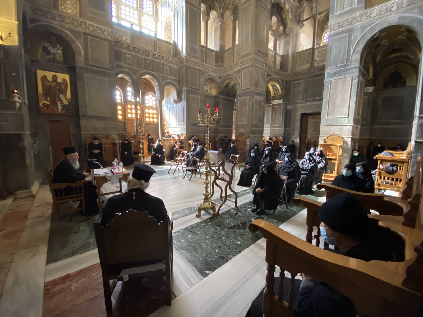 Μοναστική Σύναξη της Ιεράς Μητροπόλεως Θηβών και Λεβαδείας(φωτο)