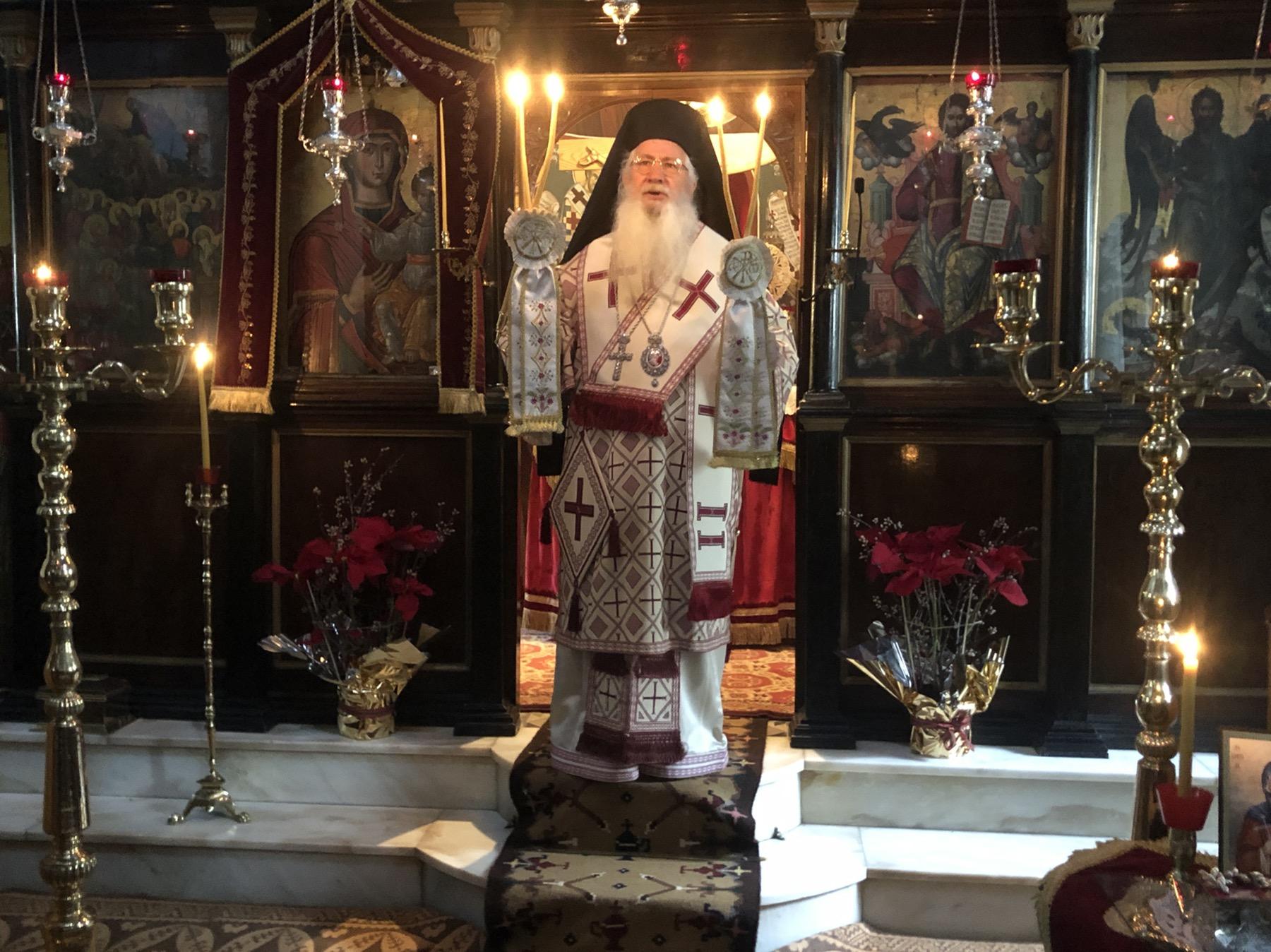Εορτή Οσίας Ξένης στην Μητρόπολη Θηβών και Λιβαδειάς(ΦΩΤΟ)