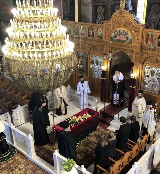 Η Θήβα αποχαιρέτισε τον ιερέα π. Κωνσταντίνου Νικολάου
